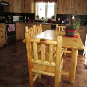 Dining table and chairs-900