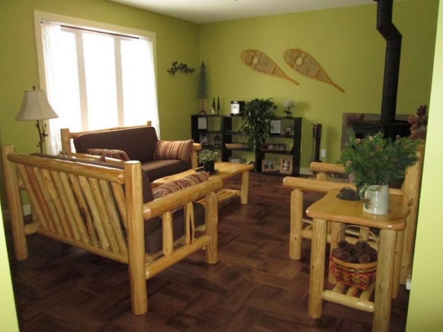 Rustic Log Living Room Furniture Higher Ground Log
